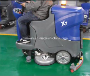Tile Floor Cleaning Scrubber Machine pictures & photos