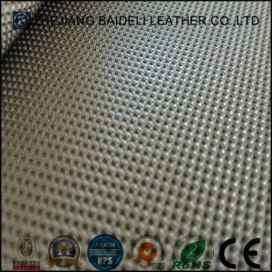 Top Sell High Quliaty Shoes PVC Leather Football Leather pictures & photos