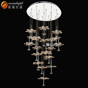 French Chandelier, Round Chandelier Lighting Om66130-19 pictures & photos
