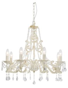 Plain White Crystal Chandelier pictures & photos