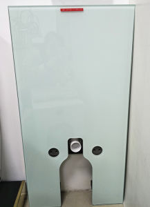 Watermark New Product Toughened Glass Cistern for Toilet/Toilet Tank (6013T-W) pictures & photos