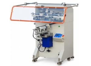 SX-3A Semi Auto Plastic Bottle Container Tube Screen Printing Machinery pictures & photos