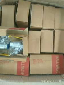 Small Order Quantity Whole Sale Brass Ball Valve pictures & photos