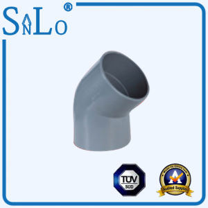 45 Degree Elbow UPVC Pipe Fittings pictures & photos