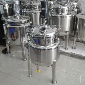 Stainless Steel Jacket Heating Chemical Reactor for Perfume pictures & photos