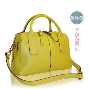 New Trendy Product Classic Design Leather for Woman Handbags pictures & photos