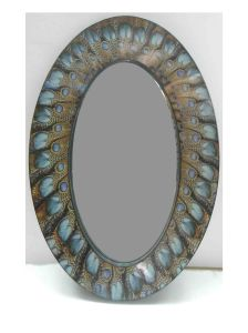 Oval Shaped Mirror for Home Decorative Mirror for Wall Art pictures & photos