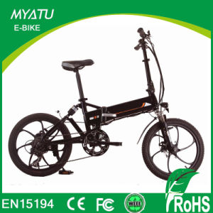 20 Inch Folding Electric Hybrird Bicycle with Hidden Battery pictures & photos