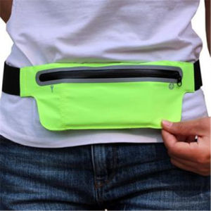 Factory Direct Running Film Lycra Hidden Pocket Bag Type Anti-Theft Key Waist Bag pictures & photos