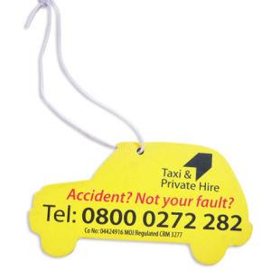 Custom Paper Car Air Freshener for Promotion Gift (AF-024) pictures & photos