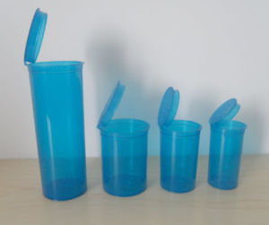 Herb Disposable Pharmaceutical Container Plastic Packaging Bottle Rx Pop Top Vials pictures & photos