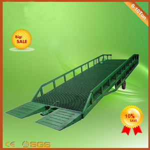 Dcqy Mobile Hydraulic Dock Ramp pictures & photos