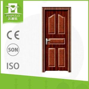 Popular in Market Low Price Security Screen Iron Single Door pictures & photos