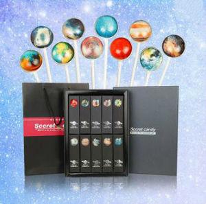 3D Romantic Starry Shape Hard Lollipop Candy pictures & photos