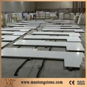 White Sparkle Quartz Stone Countertop pictures & photos