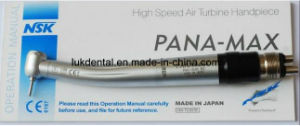 Push Button NSK Pana Max High Speed Turbine Handpiece with Quick Coupling pictures & photos
