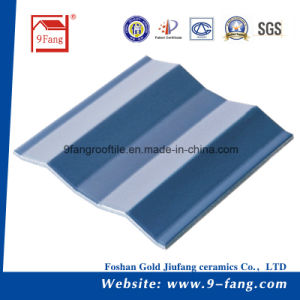 Corrugated Wave Type Clay Roofing Color Steel Roof Tiles Decoration Material pictures & photos