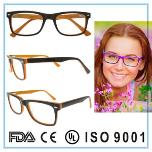 New Design Acetate Fashion Glasses Handmade Eyeglass Frame pictures & photos