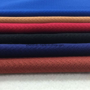 Gridding Style Wool Fabric Ready Greige pictures & photos