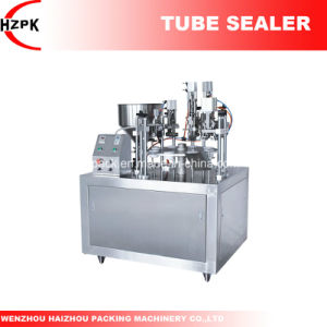 Semi-Auto Tube Filling and Sealing Machine for Metal Tube From China pictures & photos