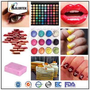 Cosmetic Color Pigments, Color Mica Pigments for Cosmetics pictures & photos