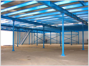 Steel Mezzanine Floor and Steel Structural Decking pictures & photos