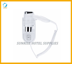 Hotel Wall Mounted Hair Dryer with Two Heat Settings pictures & photos