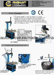 Low Profile Tire Changer (AA-TC99HB) pictures & photos