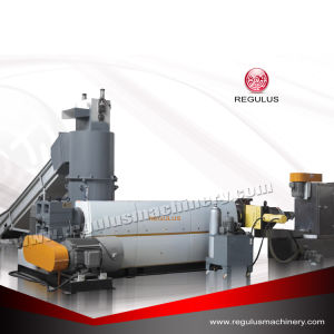 HDPE Bottle Flakes Recycling Pelletizing Production Line/Used Pellet Machine pictures & photos
