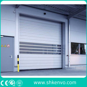 Aluminum Alloy High Speed Fast Rapid Rolling Shutter Traffic Door pictures & photos