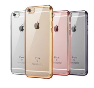 Electroplating Plating Case Soft TPU Ultra Thin Transparent Clear for J2prime J7prime J5prime Phone Cover(Xsdd-006
