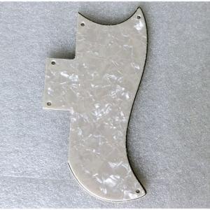 1/2 Size Vintage White Pearloid Saga Guitar Pickguard pictures & photos
