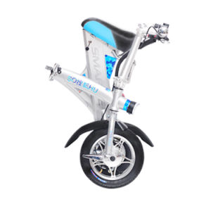 36V 250W Electric Bike Electric Motorcycle Folded Scooter Folding Electric Bicycle pictures & photos