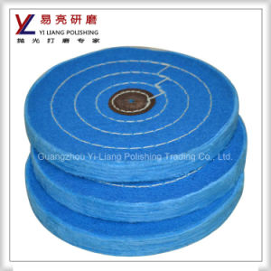 Soft Cotton Full Disk Abrasive Polishing Buffing Wheel pictures & photos