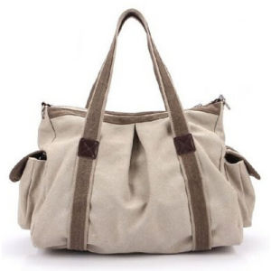 New Fashion High Quality Woman Canvas Handbag pictures & photos