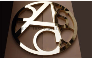 China Factory Stainless Steel Hotel Room Number Could Do Golden, Silver, Black, Rose Gold, Bronze Color pictures & photos