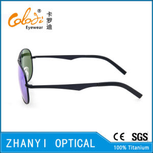 New Arrival Titanium Sunglass for Driving with Polaroid Lense (T3026-C6) pictures & photos