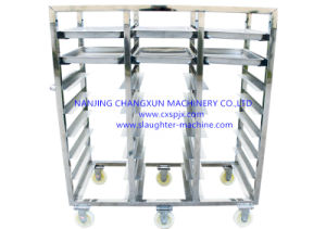 Carcass Storage Cart Used for Move Poultry Carcass