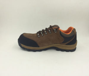 Outdoor Shoes Sports Style Split Nubuck Leather Safety Working Shoes Casual Style (16070) pictures & photos