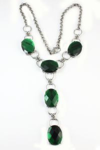 Fashion Jewelry Stainless Steel Natural Stone Necklace for Women pictures & photos