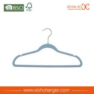 Colorful Superior Non-Slip Velvet Hanger (7LET0005) pictures & photos
