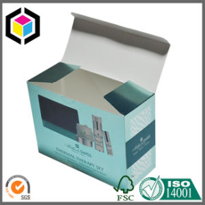 Silver Foil Logo Cardboard Paper Packaging Box for Cosmetics pictures & photos