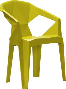 White Plastic Stacking Chair pictures & photos