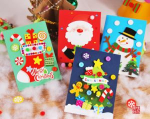 Greeting Card Printing, Christmas Card, Cutomised Printnig pictures & photos