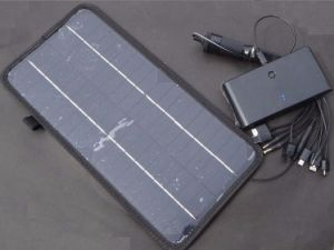 12V 8.5W Solar Panel Module Monocrystalline Cell Solar Bag pictures & photos