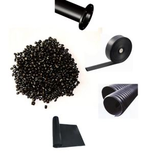 OEM Heat Resistant PP Black Pigment Carrier Color Masterbatch pictures & photos