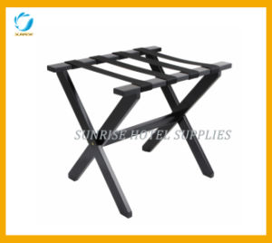 New Arrival Rubber Wood Luggage Rack for Hotel pictures & photos