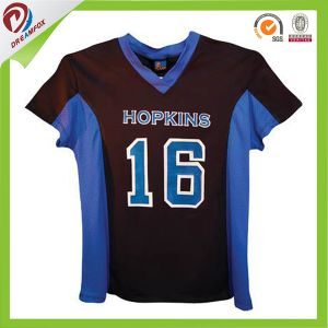 Wholesale Custom Sublimation Digital Print Team Lacrosse Jersey pictures & photos