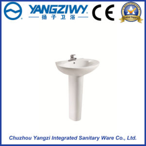 Ceramic Products Wash Basin with Pedestal pictures & photos
