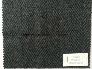 Herringbone Woolen Woven Fabric pictures & photos